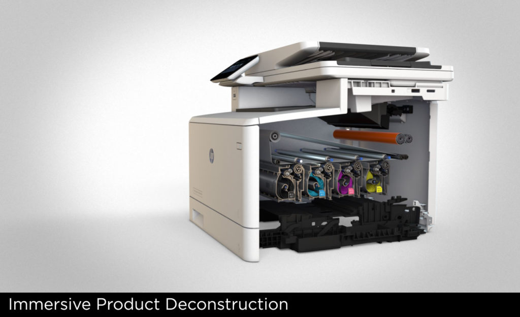3D-Immersive Product Decon