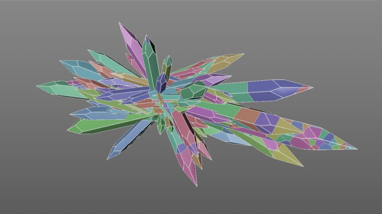 Crystal Pencil Voronoi