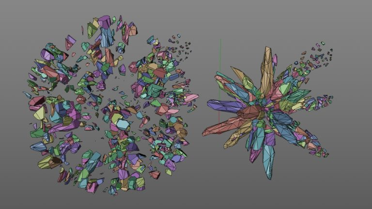 Crystal Voronoi More Fracture