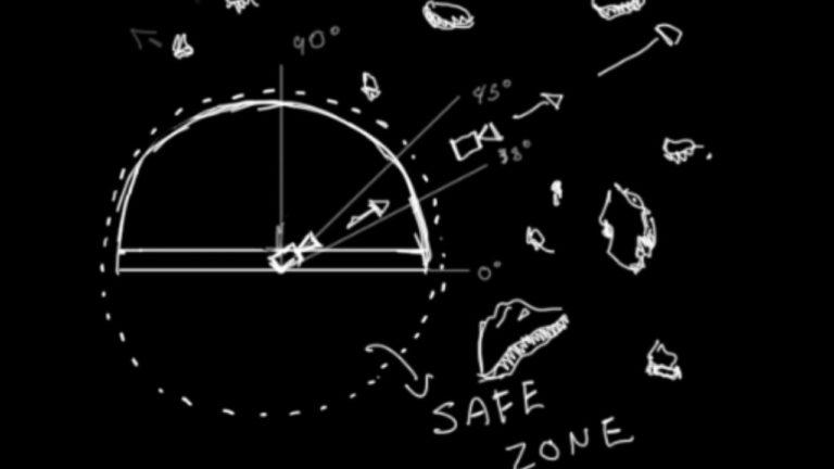 HP Dome Still-DD Dome BW Sketch